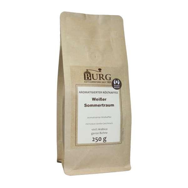 BURG Weißer Sommertraum Kaffee aromatisiert