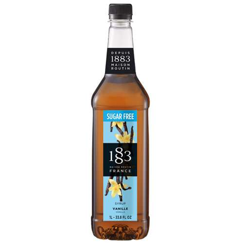 Routin 1883 Sirup Vanille zuckerfrei PET 1 L
