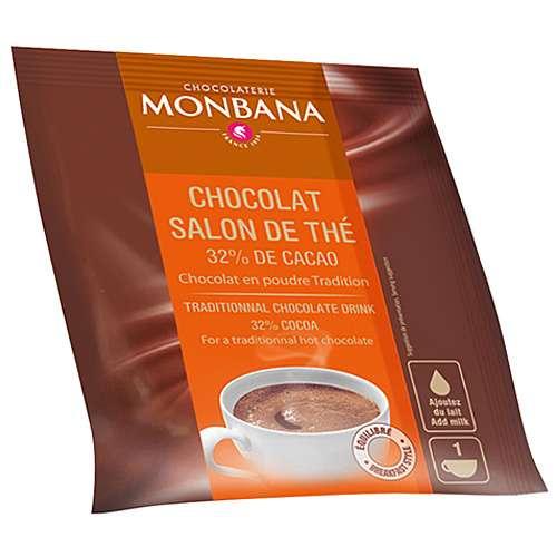 Monbana Trinkschokolade Chocolat en poudre 10 x 20 g