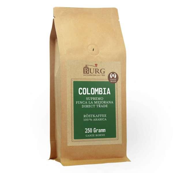 BURG Colombia Supremo Finca La Mejorana Kaffee Direct Trade