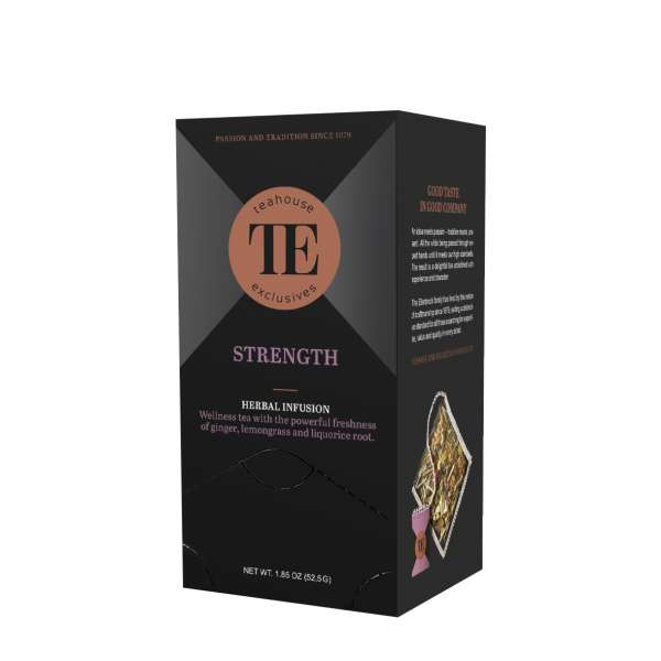 TE Luxury Tea Bag Strength 15 Teebeutel 52,5 g