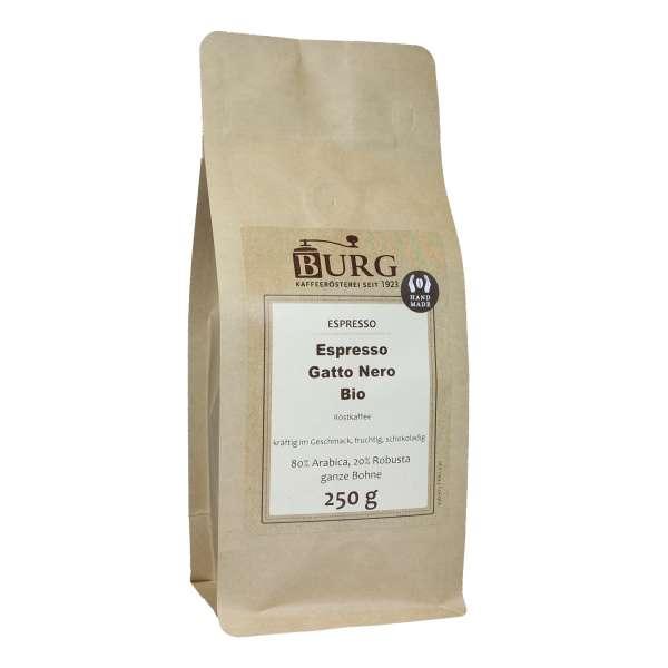 BURG BIO Espresso Gatto Nero