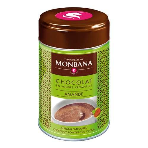 Monbana Trinkschokolade Mandel Dose 250 g