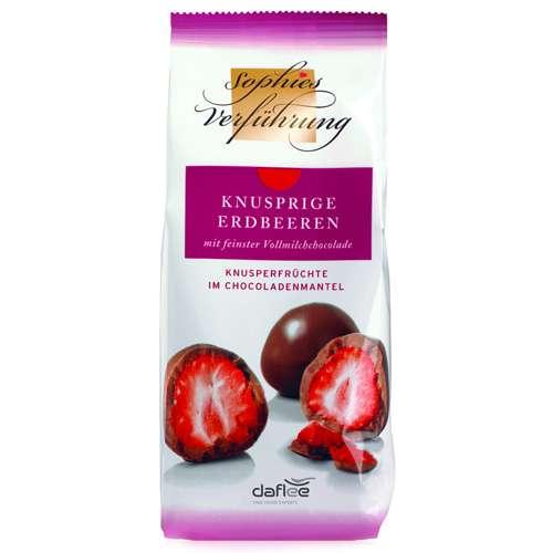 Sophies Verführung Erdbeeren Vollmilchschokolade