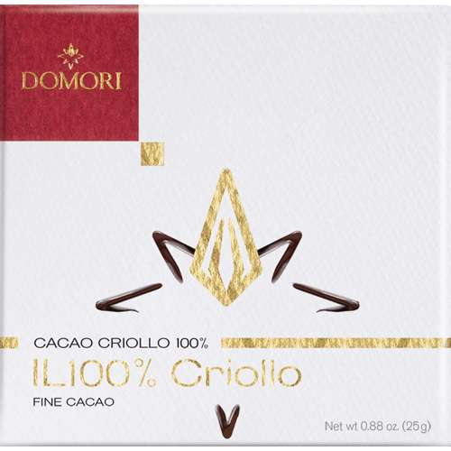 Domori Schokolade IL 100% Criollo 25 g