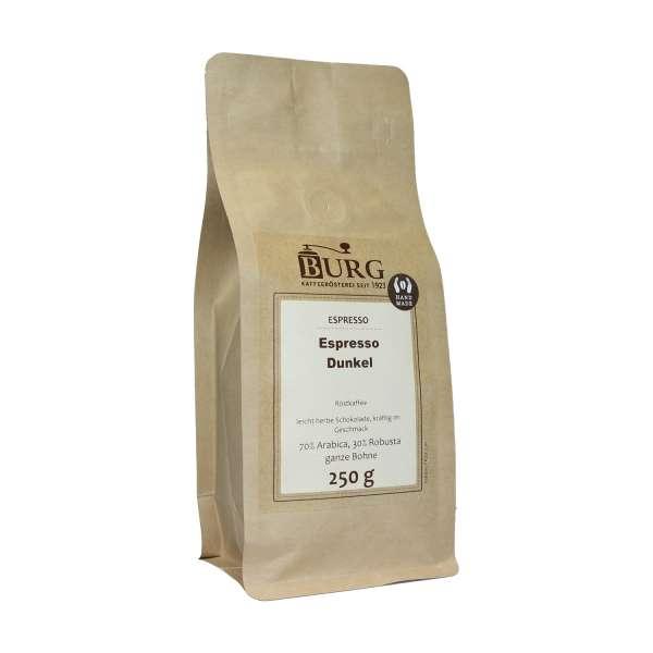 BURG Espresso dunkel