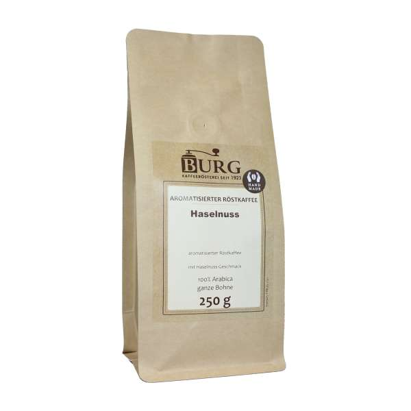 BURG Haselnuss Kaffee aromatisiert