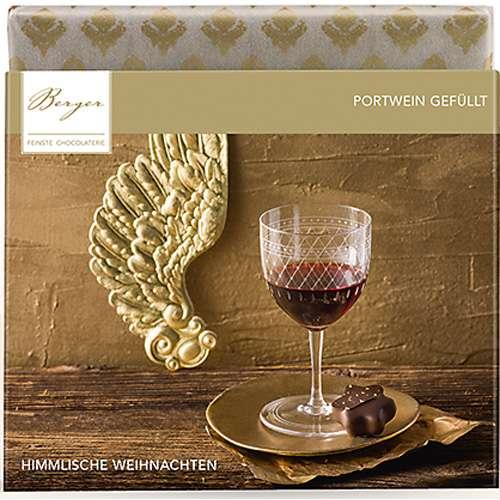 Berger Schokolade Edelbitter Portwein gefüllt 100 g