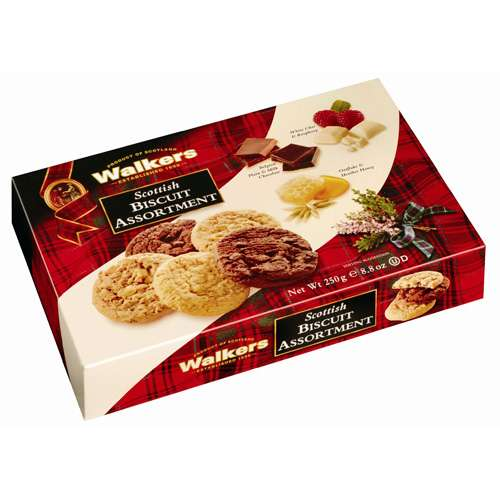 Walkers Scottish Biscuit Assortment 250 g