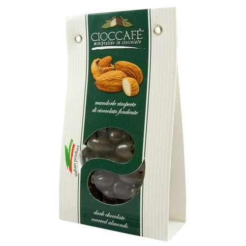 CiocCafe Mandeln mit Zartbitterschokolade lose 125 g