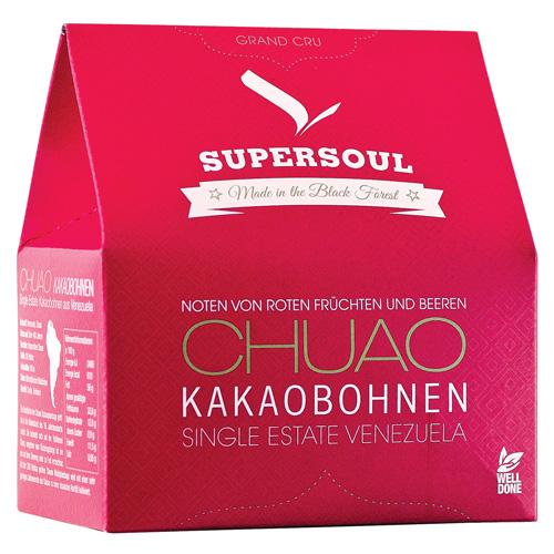 supersoul chuao kakaobohnen ger stet gesch lt 200 g kaufen kaffeeshop 24. Black Bedroom Furniture Sets. Home Design Ideas