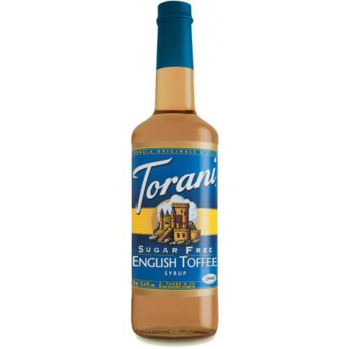 Torani Sirup English Toffee zuckerfrei 750 ml