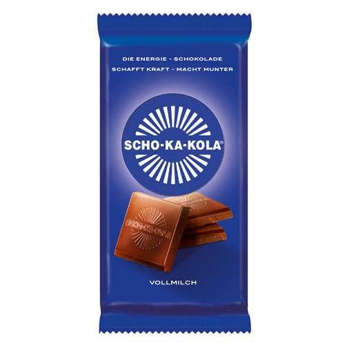 SCHO-KA-KOLA Die Energie-Schokolade Vollmilch Tafel 100 g