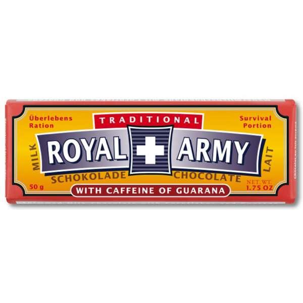 Royal Army Milchschokolade 50 g