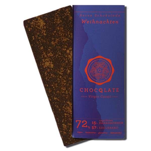 CHOCQLATE Virgin Cacao Bio Schokolade Winter 70 g
