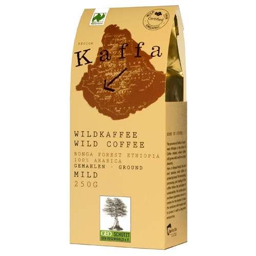 Kaffa Bio Wildkaffee Mild gemahlen 250 g