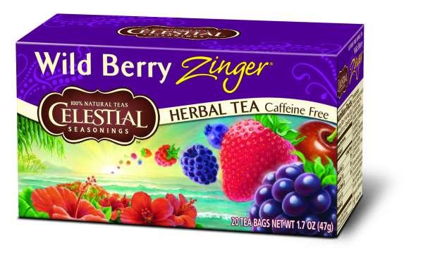 Celestial Seasonings Wild Berry Zinger 20 Beutel