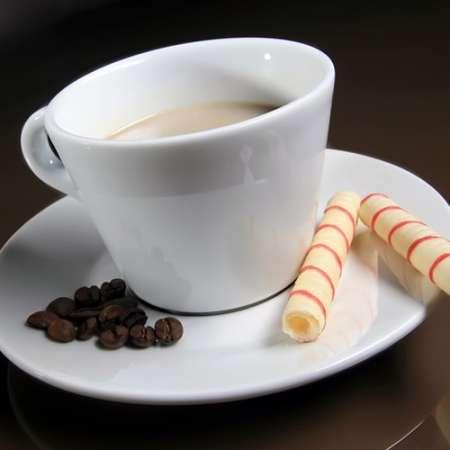 Französisch Nougat Kaffee