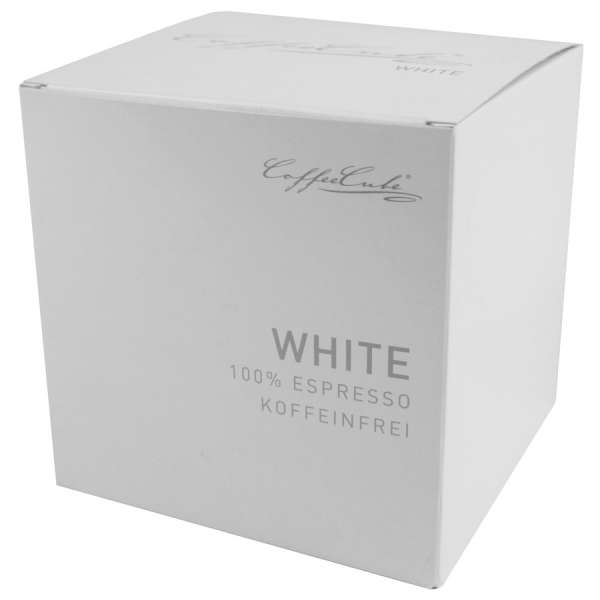CoffeeCube Espresso White entkoffeiniert Bohne 200 g