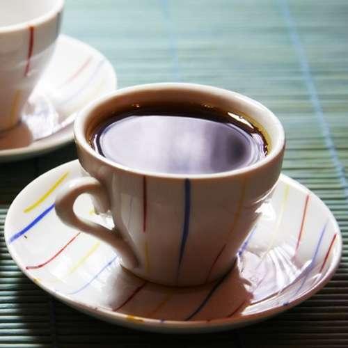 Wiener Kaffee mit Kakaobohnen