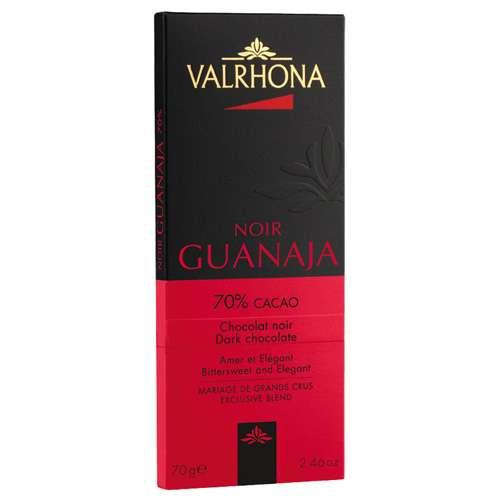 VALRHONA Dunkle Schokolade Noir Guanaja 70% 70 g