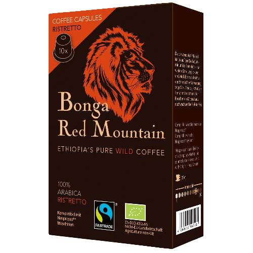 Bonga Red Mountain Ristretto Kapseln 55 g
