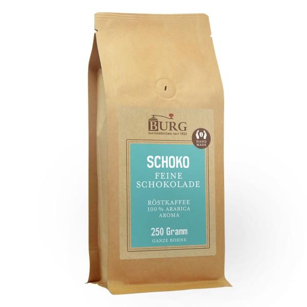 BURG Schoko Kaffee aromatisiert Bohne 250 g