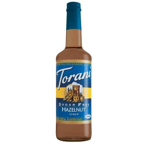 Torani Sirup Haselnuss zuckerfrei 750 ml