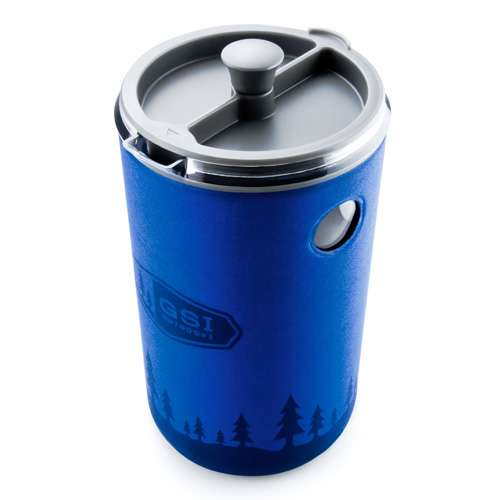 GSI Outdoors JavaPress Kaffeebereiter blau 0,89 Liter