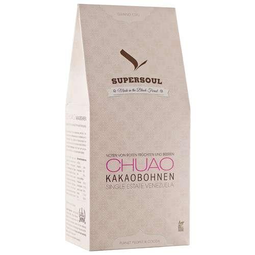 SuperSoul Chuao Kakaobohnen geröstet 330 g