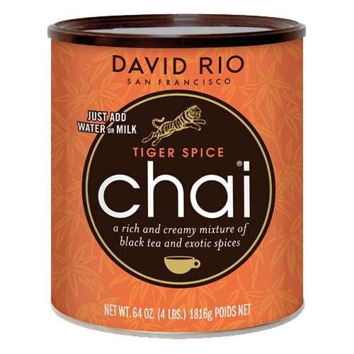 David Rio Tiger Spice Chai Gr. Dose 1814 g