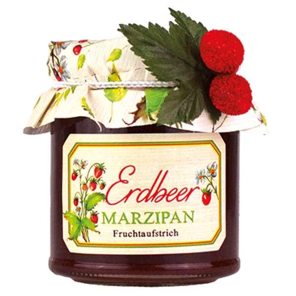 Erdbeer-Marzipan Fruchtaufstrich von Collier 225g