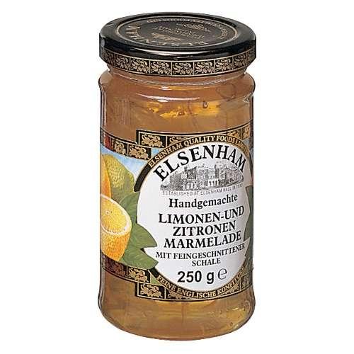 Elsenham Limonen- und Zitronenmarmelade 250 g