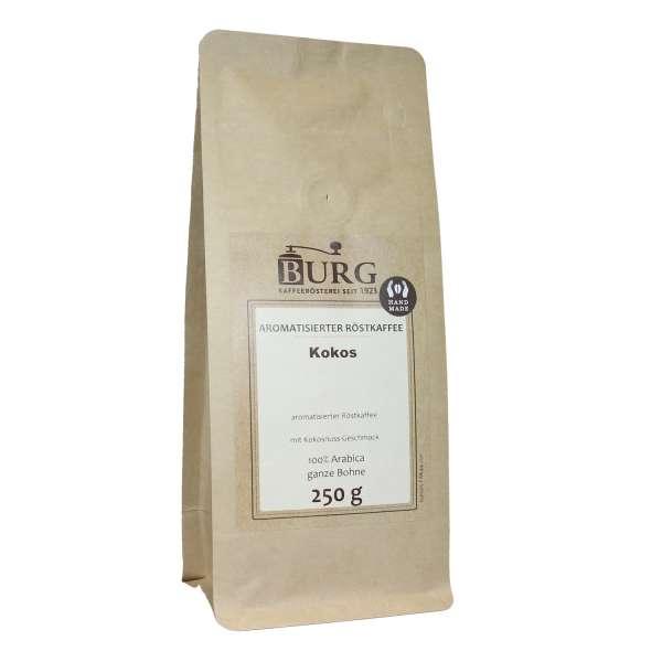 BURG Kokos Kaffee aromatisiert