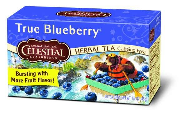 Celestial Seasonings True Blueberry 20 Beutel
