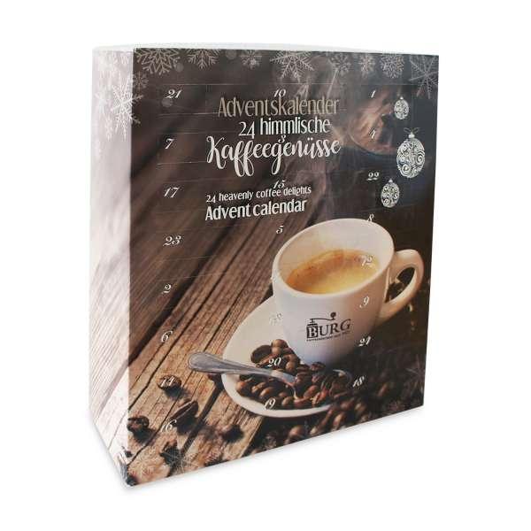 BURG Adventskalender Kaffee gemahlen 360 g