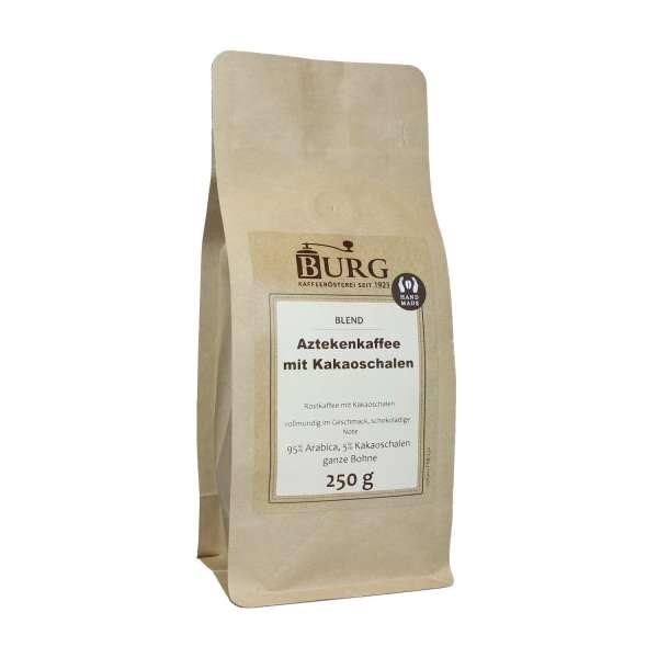 BURG Azteken Kaffee mit Kakaoschalen