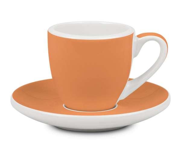 Könitz Espresso Tasse & Untertasse orange 50 ml