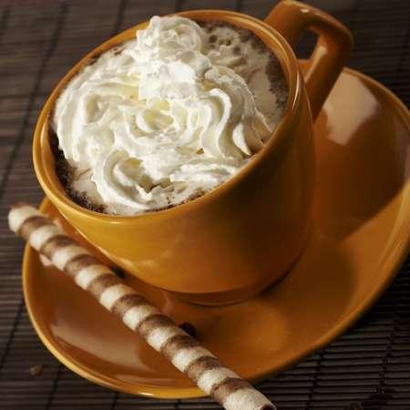 Schoko Vanille Sahne Kaffee