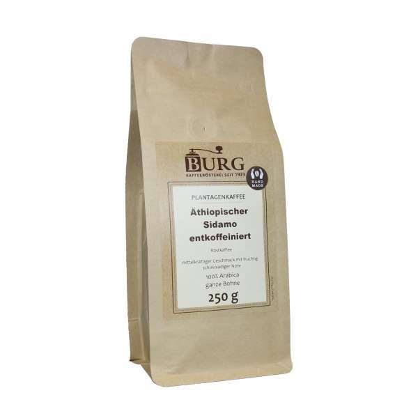 BURG entkoffeinierter Kaffee Äthiopien Sidamo