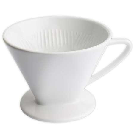 Cilio Kaffeefilter weiß Größe 6