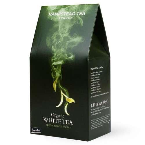 HAMPSTEAD TEA Bio White Tea loser Tee 40 g
