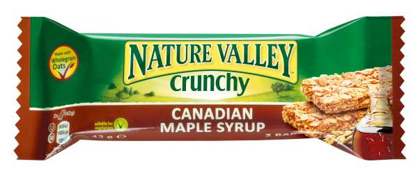 Nature Valley Crunchy Doppel-Müsliriegel Canadian Maple Syrup 42 g