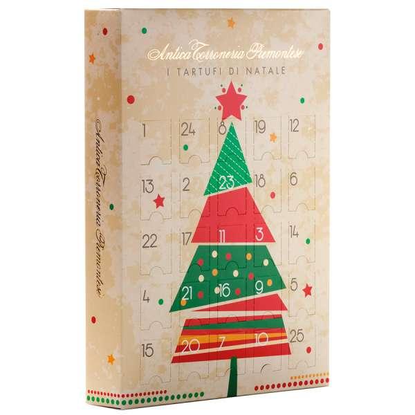 Antica Torroneria Tartufi Adventskalender Weihnachtsbaum 175 g
