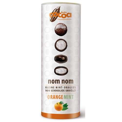 Becks Cocoa schokolierte Minzdragees nom nom Orange Mint 75 g