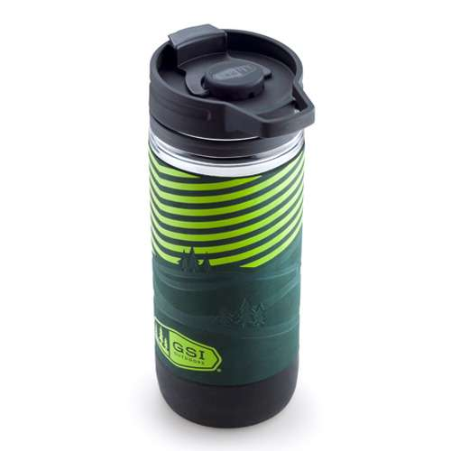 GSI Outdoors Commuter JavaPress Kaffeebereiter grün
