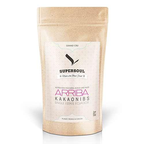 SuperSoul Arriba Kakaonibs geröstet & geschält 150 g