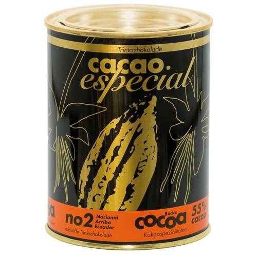 Becks Cocoa Trinkschokolade Bio Cacao Especial No 2 Dose 250 g