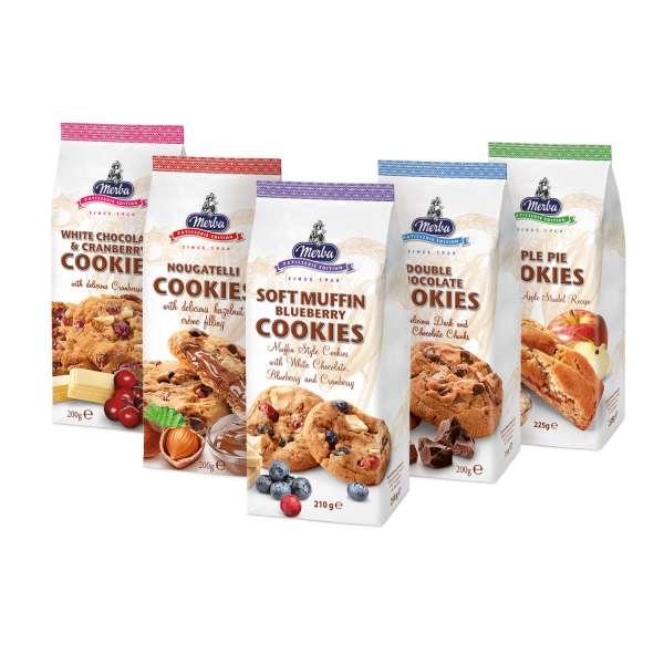 Merba Cookies 5er Set