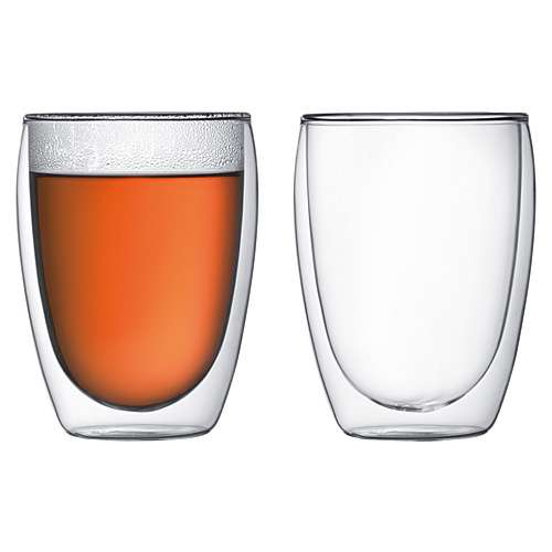 Bodum PAVINA Glas 2 Stück doppelwandig 0,35 L